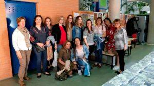 Visita a PLACEAT del Curso de Atención Sociosanitaria en Domicilio de Navalmoral de la Mata
