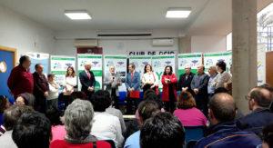 Visita de los Responsables de la Fundación Banco Santander