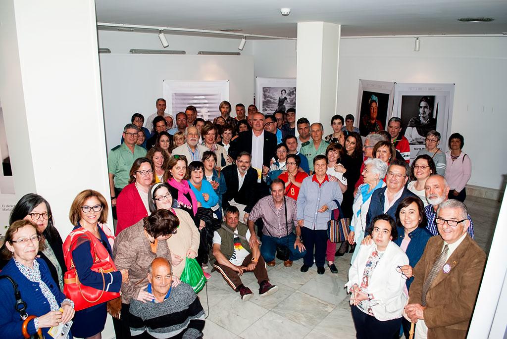 """Inauguración de la Exposición Fotográfica en Plasencia, """"Yo, Tú, Ellas"""", de Plena Inclusión Extremadura y el Instituto de la Mujer de Extremadura"""