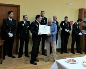 La Policía Nacional de Plasencia premia al Presidente de PLACEAT, Francisco de Jesús Valverde
