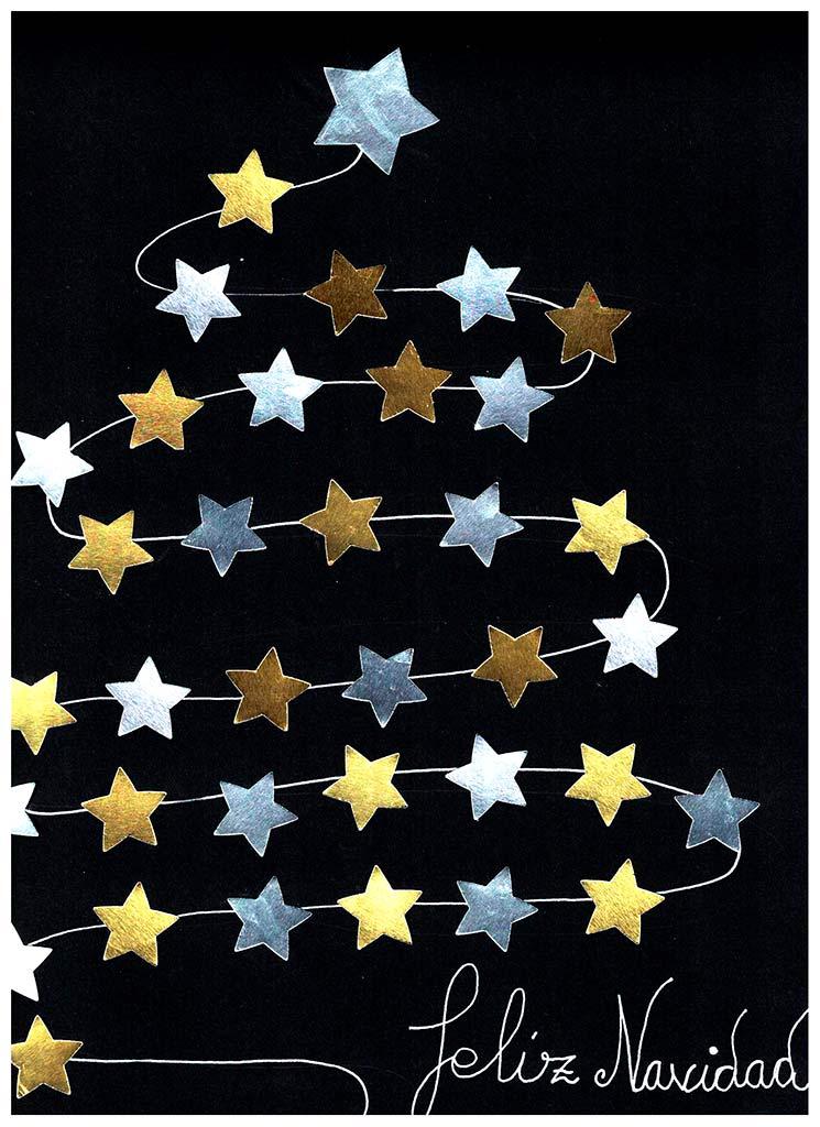 Postal de Navidad 2018 realizada en Placeat por Rocío