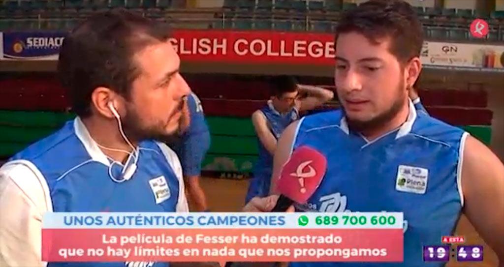 Reportaje de Canal Extremadura a nuestros jugadores de Baloncesto