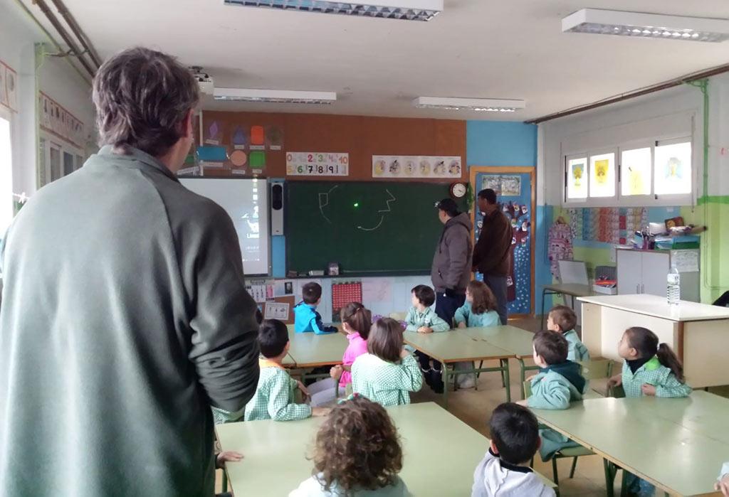 Visita al Colegio Alfonso VIII