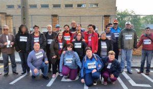 Marcha de apoyo al cole de Miralvalle 2019