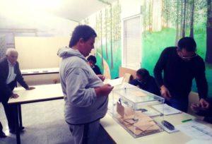 Día histórico de votaciones en las Elecciones Generales de 2019
