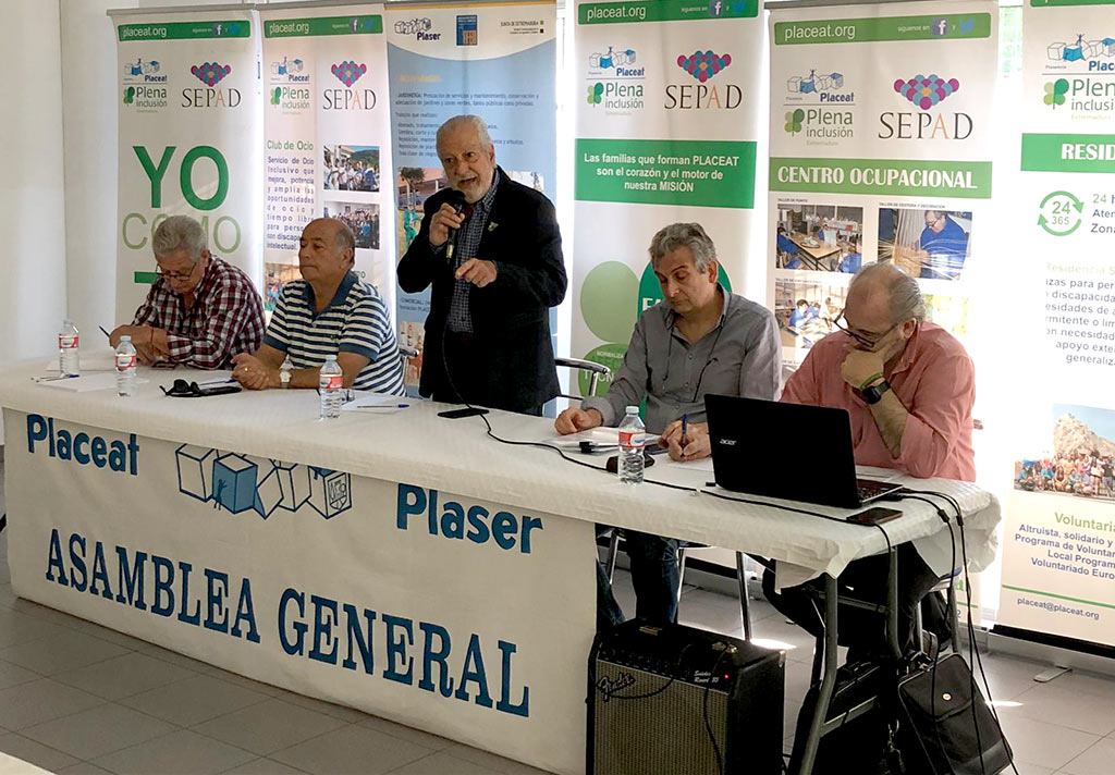 Asamblea General PLACEAT-PLASER domingo 5 de Mayo de 2019