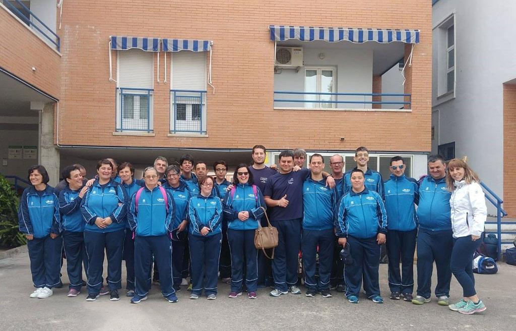 Foto de Grupo de los deportistas que han participado en los JEDES 2019