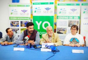 Imagen de las personas que intervinieron en la Rueda de Prensa de la presentación de la Semana Cultural de Placeat 2019