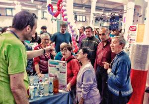 Visitamos la FSTEAM, la Feria de Ciencia y Gastronomía de Plasencia