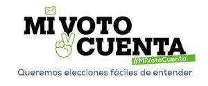 Imagen de la campaña para las votaciones de las personas con discapacidad intelectual