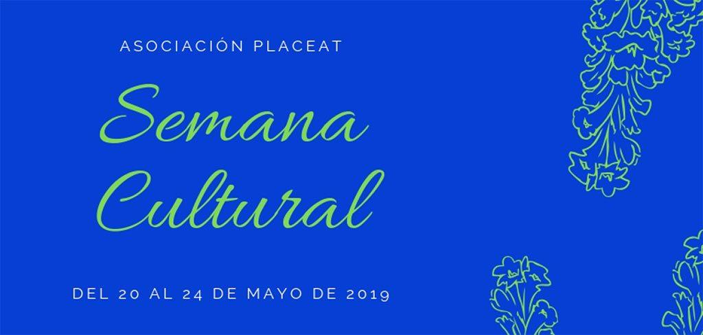 Imagen del Programa de la Semana Cultural de Placeat 2019