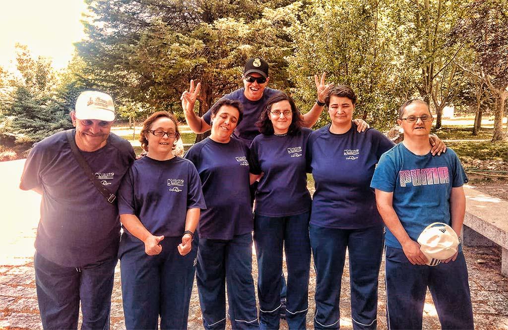 Foto de Grupo de los participantes en Actividades en el Medio Natural y Deportes de Aventura - Junio 2019