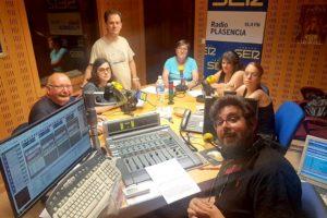 Imagen de los participantes de la tertulia en el estudio de Ser Norte de Extremadura
