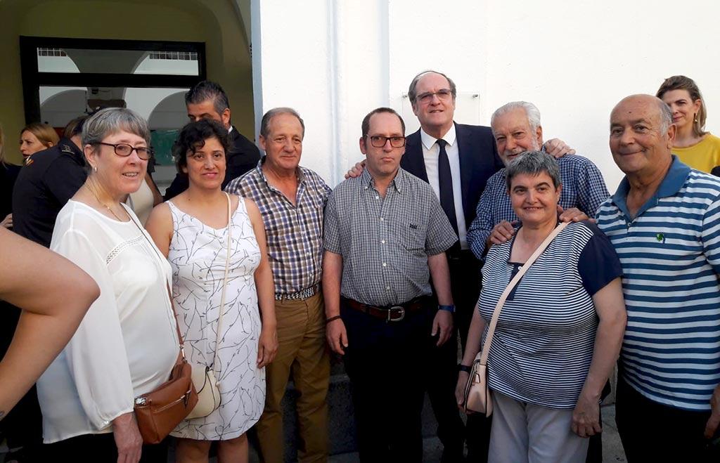 El grupo de PLACEAT que asistió a la toma de posesión de la Junta de Extremadura