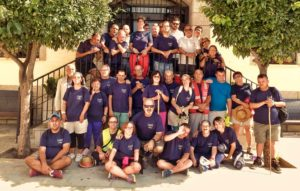 Foto de Grupo de la Cuarta Etapa de la Marcha Placeat por Tierras de Trujillo