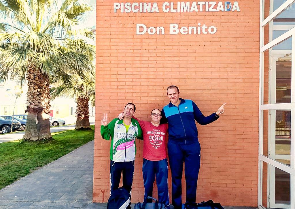 Prueba de Natación en Categoría de Competición en Don Benito