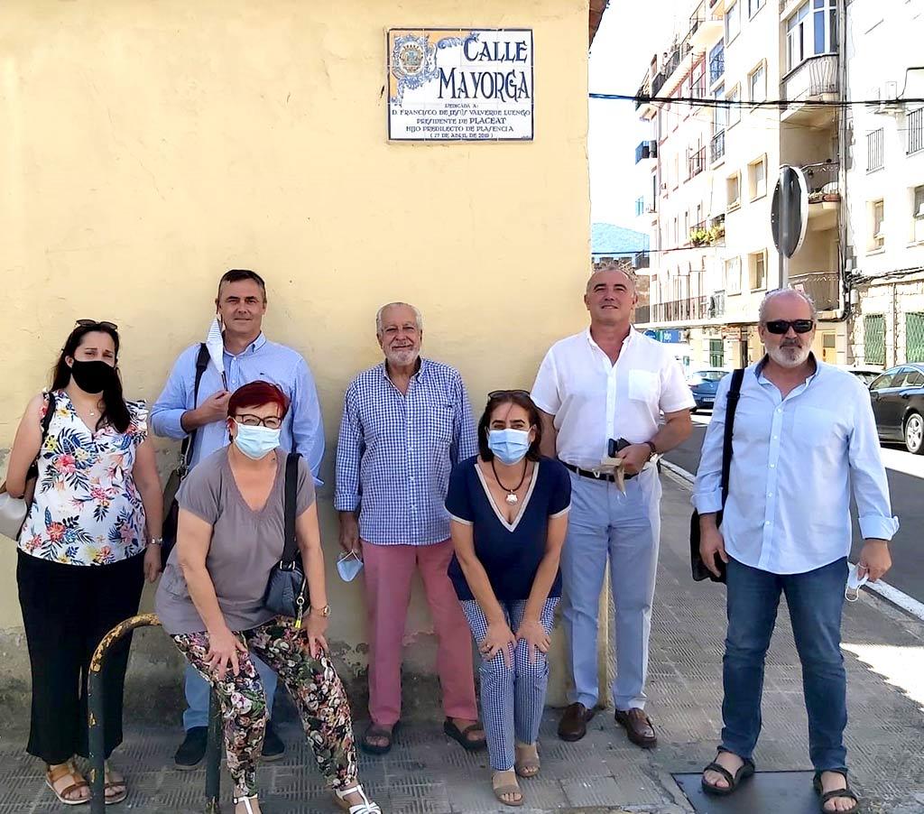 Primera visita del Presidente de Plena Inclusión Extremadura tras el confinamiento