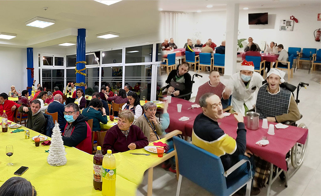 Cenas de Navidad 2020 en las Residencias de PLACEAT