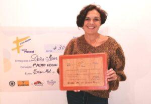 Mar Muñiz recibe el Premio de la Fundación PLACEAT