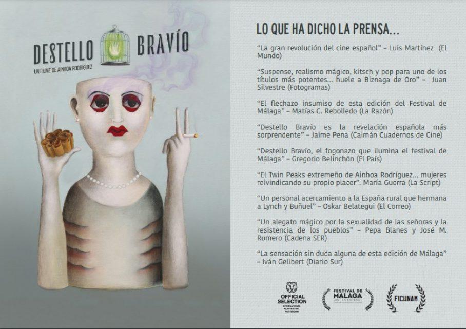 "Estreno de la Película ""Destello Bravío"""