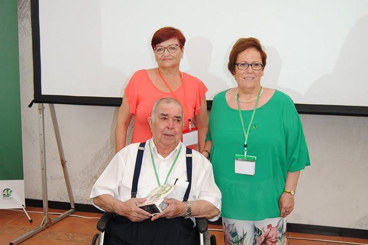 Homenaje a Ernesto García, uno de los protogonistas del nacimiento de Plena Inclusión Extremadura